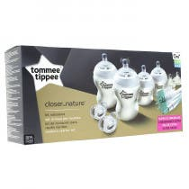 Tommee Tippee Kit Recien Nacido Closer To Nature Blanco