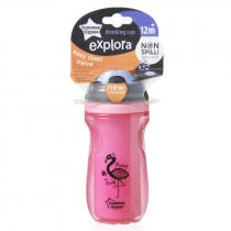 Taza Active Drinking Tommee Tippee 12m Rosa 260ml