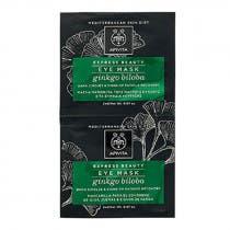 Apivita Express Beauty Mascarilla Circulos Oscuros y Ojeras con Ginkgo 2x2ml