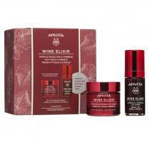 Apivita Wine Elixir Crema Textura Rica 50ml Serum 30ml