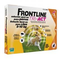 Frontline Tri Act Perros 5-10kg 3 Pipetas