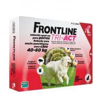 Frontline Tri Act Perros 40-60 kg 6 Pipetas