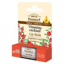 Balsamo Labial Coctel Vitaminas Green Pharmacy 4 8g