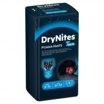Panales Huggies DryNites Nino 8-15 anos 9 Uds