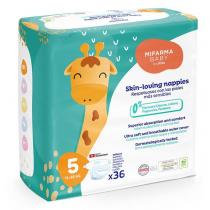Mifarma Baby Panales T5 11-25kg 36 uds