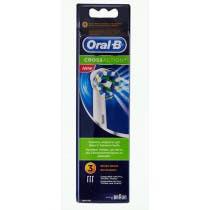 Recambio Cepillo Electrico Oral B Cross Action 3 Unidades