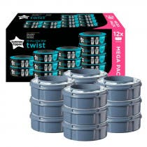 Recambios Contenedor Panales Twist Click Tommee Tippee 12Uds