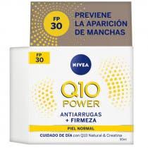 Crema Q10 Power Antiarrugas Cuidado de Día FP 30 Nivea 50ml