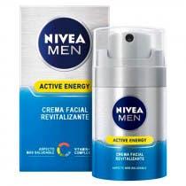Crema Facial Revitalizante Nivea Men 50ml