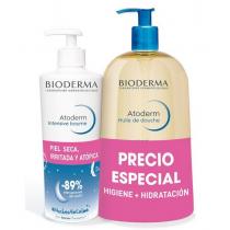Bioderma Pack Atoderm Intensive Baume 500ml Atoderm Aceite Ducha 1 Litro