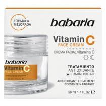 Crema Facial Vitamina C Babaria 125ml