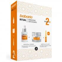 Estuche Babaria Vitamina C Serum 30ml   Crema 50ml   Ampolla 2ml