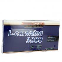 L-Carnitina Sotya 3000 mg 10 Ampollas