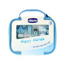 Set Manicura Bebe Happy Hands Chicco 0m  Azul