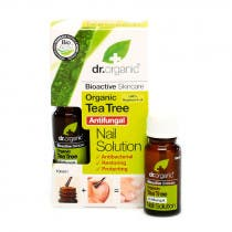 Solucion para Unas Arbol del Te Organico Dr  Organic 10ml