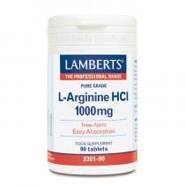 Lamberts L-Arginina HCI 1000mg 90 Comprimidos