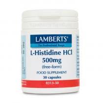 Lamberts L Histidina HCI 500mg 30 Comprimidos