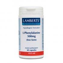 Lamberts L Fenilalanina 500mg 60 Comprimidos