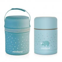Termo para Alimentos Silky Miniland Azul 600ml
