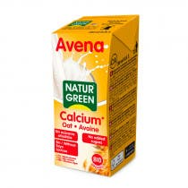Bebida Vegetal Avena Calcio Bio NaturGreen 200ml
