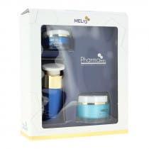 Pack Mel13 Proteccion Celular Crema Serum Contorno Ojos
