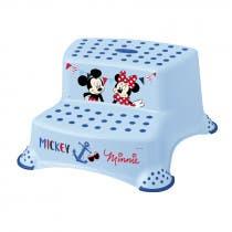 Taburete Doble Mickey Mouse Plastimyr