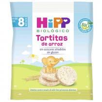 Tortitas de Arroz HIPP Biologico 8m 30gr