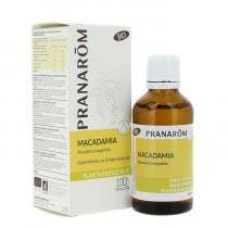 Aceite Vegetal Macadamia BIO Pranarom 50 ml