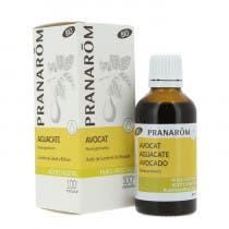 Aceite Vegetal Aguacate BIO Pranarom 50 ml