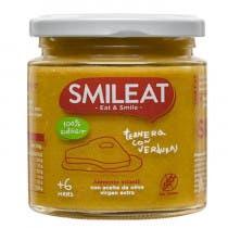 Smileat Tarrito de Ternera con Verduras 100 Ecologico 230g