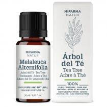 Aceite de Árbol del Té 100% puro Mifarma Natur 20ml