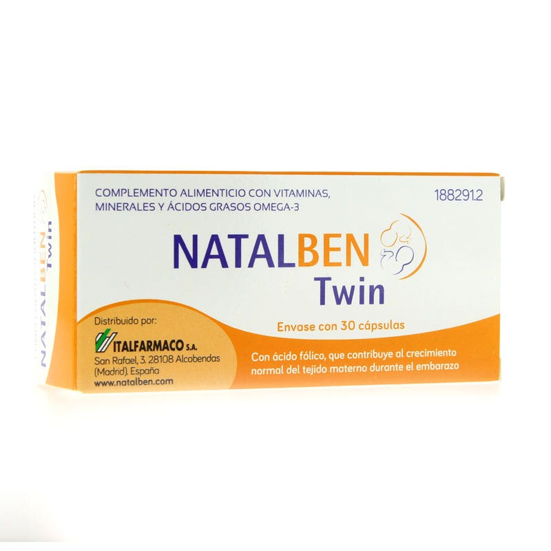 ITALFARMACO NATALBEN TWIN 30 CAPS